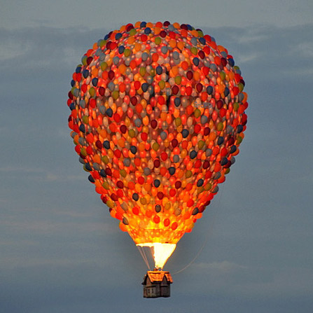 hot air balloon square