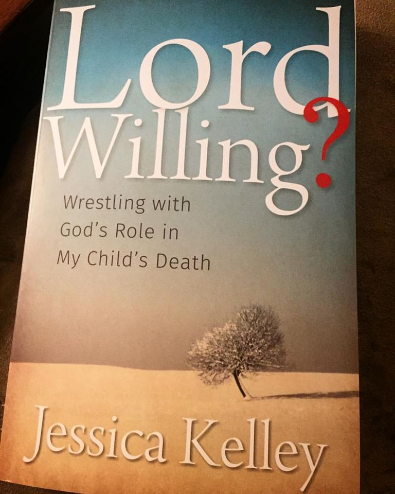 "This is our actual copy of, Lord Willing""! Sorry, you can't have ours, but I'll buy one to give away to a Shalom Sista. Just hit me up on Instagram."